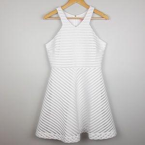 Lilly Pulitzer | Megyn Mesh Dress | White | Medium